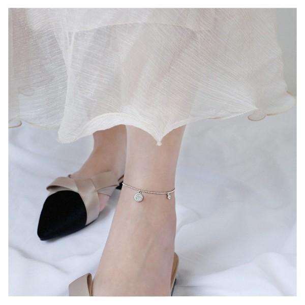 Lắc chân bạc Thái cao cấp - Tuna Shop, thiết kế thời trang, sang trọng, kiểu dáng nhỏ xinh, chất lượng đảm bảo