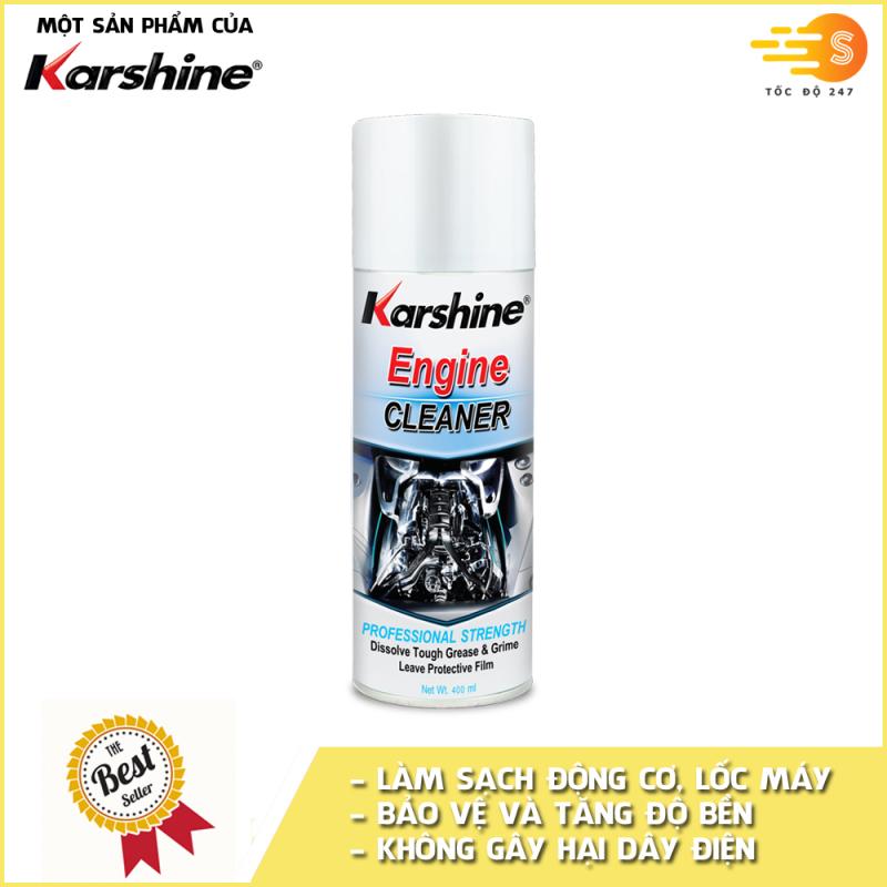 Bình xịt vệ sinh lốc máy, động cơ xe ô tô Karshine KA-EC400 - Tốc Độ 247