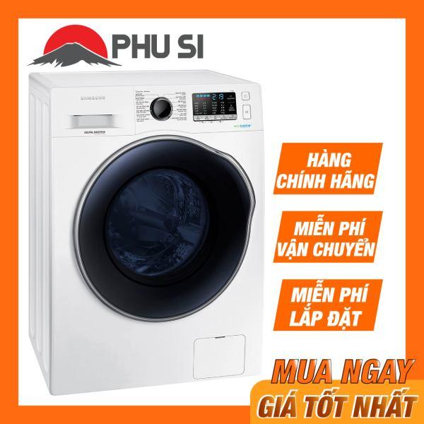 [Trả góp 0%]Máy giặt sấy Samsung Inverter 9.5kg WD95J5410AW/SV chính hãng