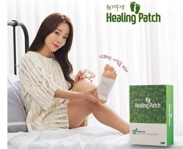 MIẾNG DÁN THẢI ĐỘC CHÂN HÀN QUỐC HEALING PATCH 30 MIẾNG cao cấp