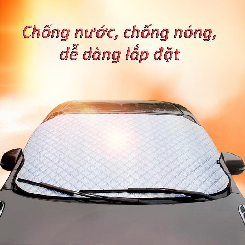 Tấm che chống nắng phản quang,tĩnh điện,chống gió, chống mưa, chống bám tuyết, cách nhiệt  cho kính trước ôtô, xe hơi, xe tải gấp gọn cỡ lớn  EX016