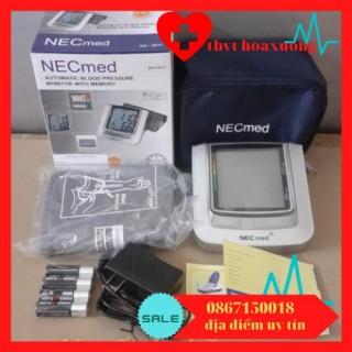 [GIẢM RẺ] Máy đo huyết áp bắp tay Necmed - Nhật Bản( bảo hành 3 năm tặng kèm sạc pin) thumbnail