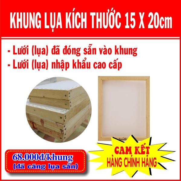Bảng giá Khung in lụa (15x20cm) - 68k/cái (Sản phẩm đã có lưới) Điện máy Pico