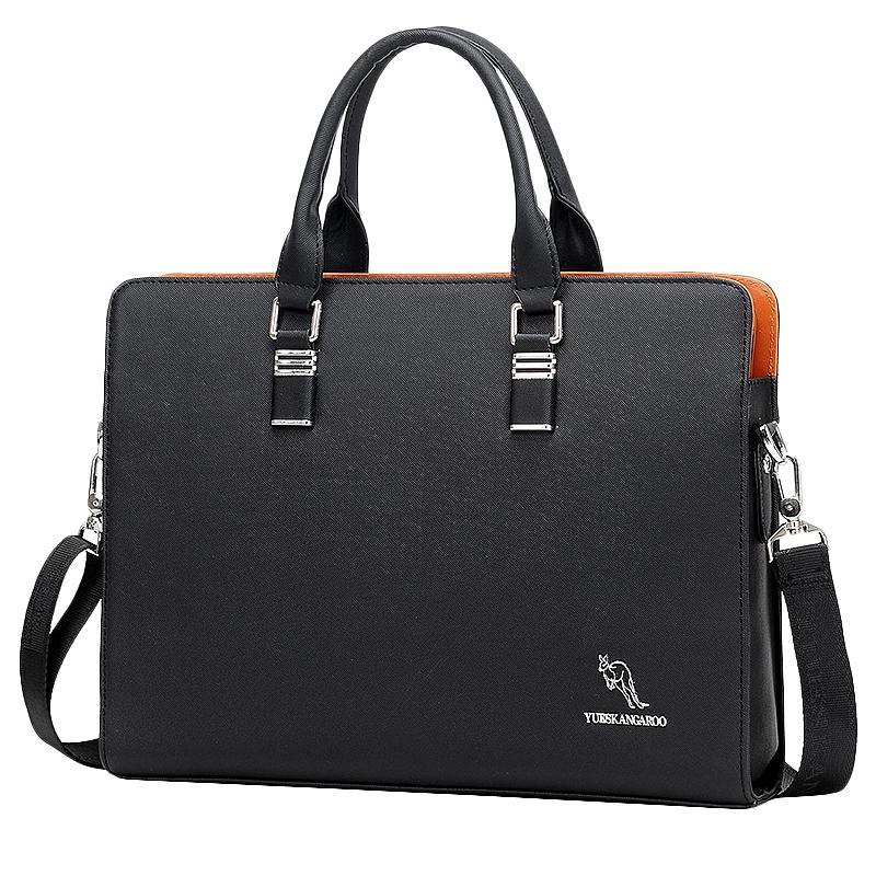 Giá Tiết Kiệm Khi Sở Hữu YUESKANGAROO Men's Business Messenger Bags Handbag Men Crossbody Bag Laptop Bag Laptop Briefcase For Men Shoulder Bags Black