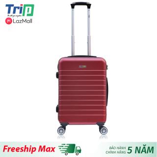 [Hỗ trợ phí Ship] Vali TRIP PC911 Size 20inch Vali du lịch TRIP size xách tay lên máy bay, dây kéo chống cậy phá thumbnail