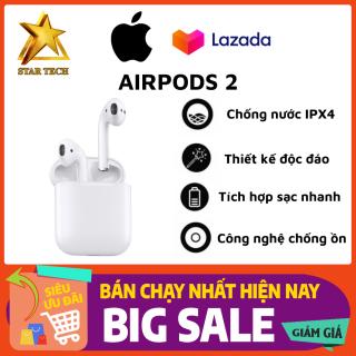 [Nguyên Seal - Bảo Hành 2 Năm] Tai Nghe Bluetooth AirPods 2 - Tai nghe True Wireless AirPods - Thiết Kế Thời Trang - Sử Dụng Cảm Ứng Đa Điểm Điều Khiển Dễ Dàng - Sử Dụng Lên Tới 24h - Bảo Hành 2 Năm - Lỗi 1 Đổi 1 thumbnail