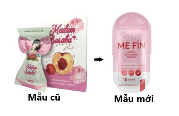 Viên nở ngực khít khỏe Busaba mẫu mới Me-fin gói 10 viên giá rẻ