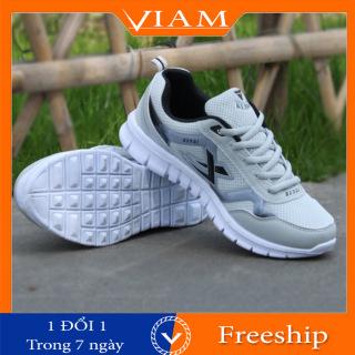 [FREESHIP] Giày Thể Thao Chạy Bộ Nam Siêu Nhẹ Thoáng Khí Thời Trang Phong Cách Đẹp Chất Mới Nhất 2021 VIAM SM62D thumbnail