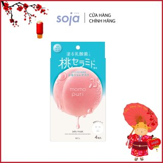 Mặt Nạ Giấy Momopuri Jelly Mask (Hộp 4 miếng) thumbnail