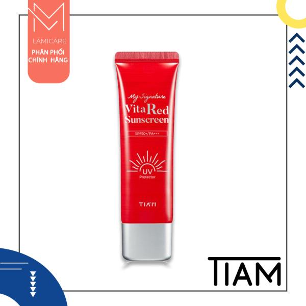 Tiam kem chống nắng Tiam my signature vita red sunscreen 50ml