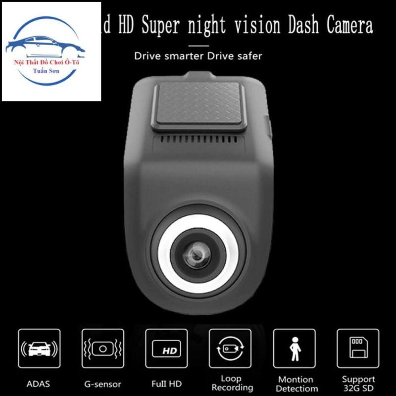 Camera Hành Trình U3 Full HD Kết Nối Màn Hình DVD Android Cho Ô Tô Xe Hơi