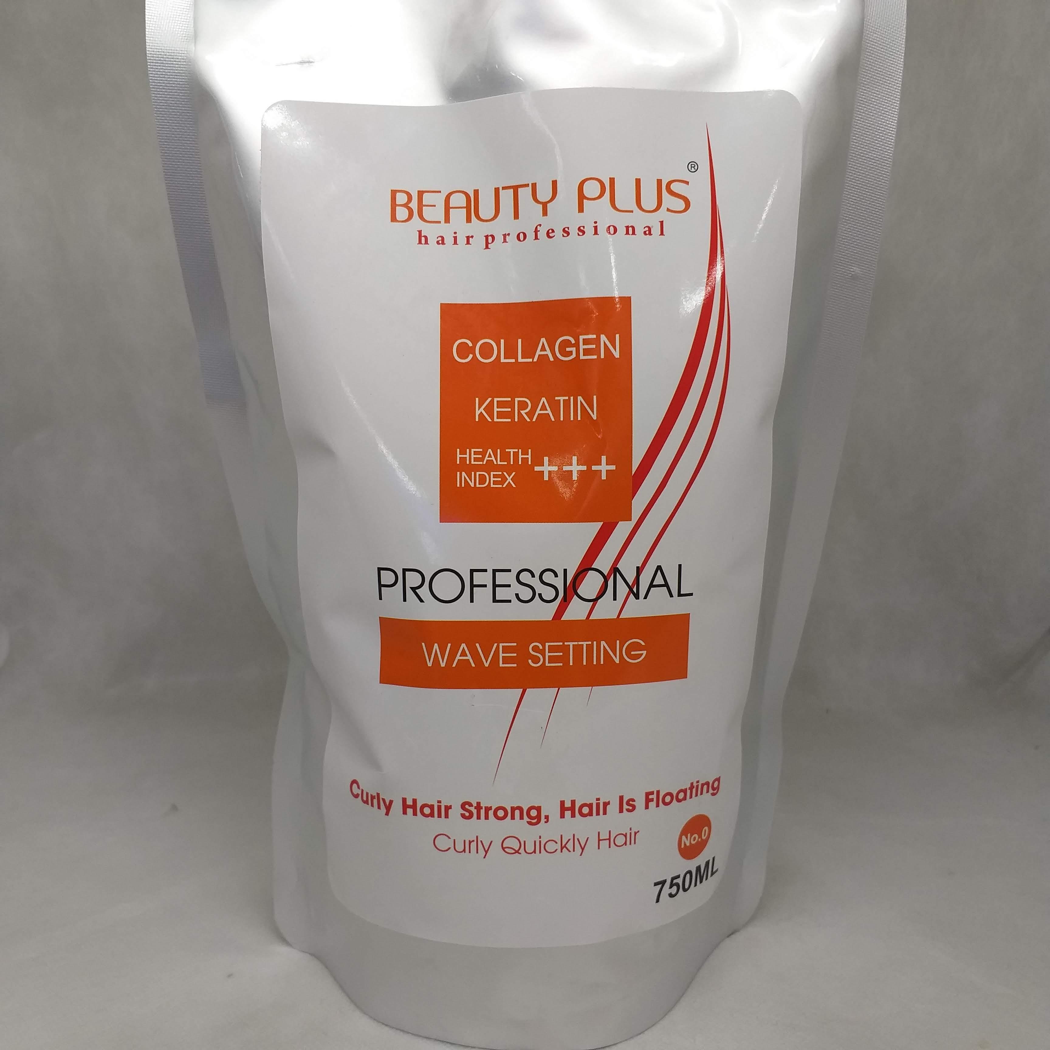 Kem uốn nóng Beauty  Plus 750ml tóc khỏe chính hãng