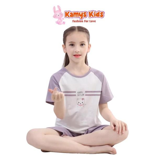 Nơi bán Bộ Quần Áo Mặc Nhà Kamys Kids Họa Tiết Dễ Thương Cho Bé Trai, Bé Gái Từ 13-40Kg