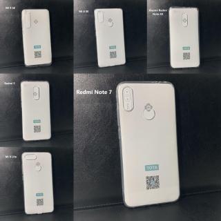 Ốp silicone dẻo trong suốt Tota đủ dòng Xiaomi Mi 9 SE Mi 8 SE Redmi Note 4X Redmi 5 Mi 8 Lite Redmi Note 7 Note 5 Pro thumbnail