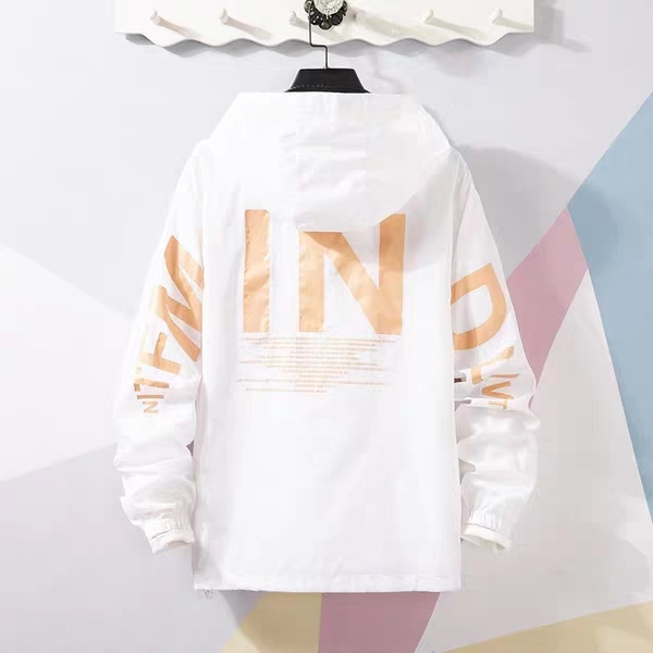 ( CÓ VIDEO) Áo khoác dù nhẹ  nam đa năng 2 lớp  chống nắng chữ  IN  hai  túi có  dây kéo  và có túi trong mẫu  mới nhất  2020 ( 5 màu )