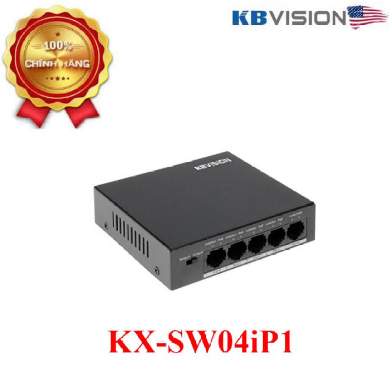Bảng giá Switch PoE KBVISION 4 cổng KX-SW04iP1 Phong Vũ