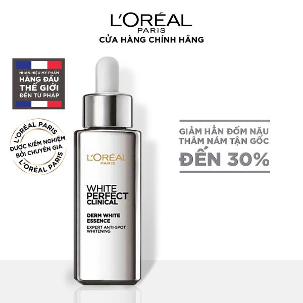 Tinh chất tăng cường dưỡng trắng da & giảm thâm nám Loreal Paris White Perfect Clinical - 30ml