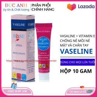 Vaseline dưỡng môi chống nẻ da dùng cho nam nữ - Hàng Việt Nam Chất Lượng Cao - Đức Anh center thumbnail