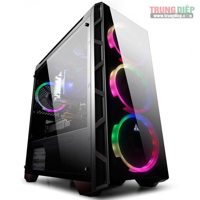 Vỏ case Gaming Golden Filed N55 [no fan]