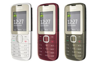 Điện thoại Nokia C2-00 Chính Hãng - 2 SIM - Full Chức Năng - Kèm Phụ Kiện thumbnail