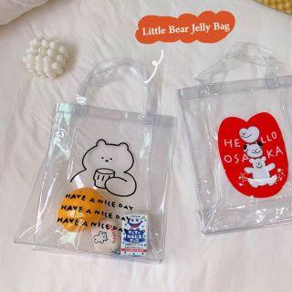 [HCM]Túi xách tay nhựa trong PVC thumbnail
