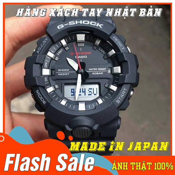 Nơi bán Đồng hồ Nam G-Shock GA-800-1A - Mới- Made in JAPAN - Size 46mm - Bảo hành 12 tháng - Siêu chống nước,chống từ,chống va đập - Màu bền không phai - Đẳng cấp NHẬT BẢN