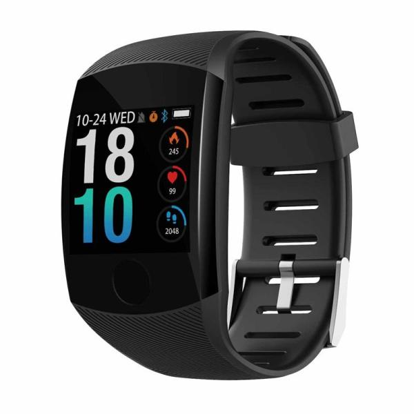 Giá Q11 Smart Watch Waterproof Fitness Bracelet Big Press Screen Message Remind Heart Rate Time Smartband Activity Tracker Wristband