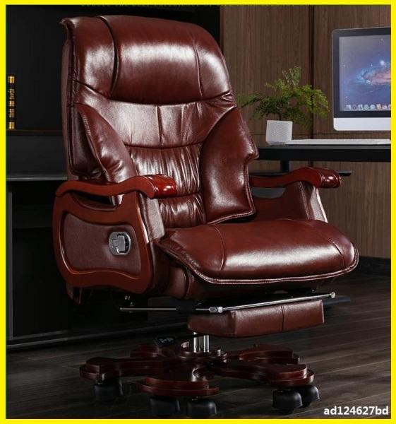 Ghế Giám Đốc Da Bò Kèm Massage Toàn Thân, Ngả Lưng 90 độ - Ghế Làm Việc Có Massage Đa Năng, Ghế Văn Phòng Cao Cấp giá rẻ
