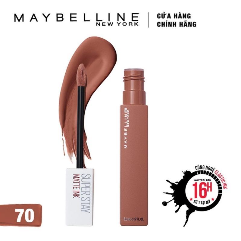 Son Kem Chuẩn Lì Giữ Màu 16h Maybelline New York Super Stay Matte Ink 5ml