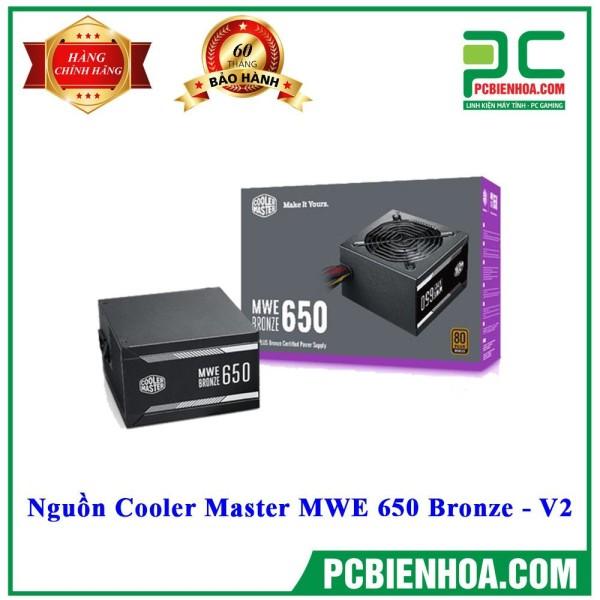 Bảng giá NGUỒN Siêu phẩm 2020 COOLER MASTER MWE 650 BRONZE-V2 Phong Vũ