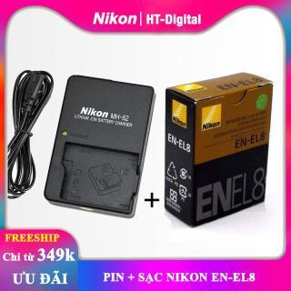Pin + sạc máy ảnh Nikon EN-EL8 thumbnail