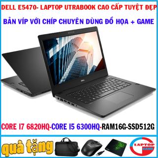 Dell Latitude E5470 (bản víp CHÍP siêu khủng siêu mỏng) Core i7 6820HQ, CORE I5 6300HQ, RAM 16G, SSD 512G, laptop utrabook siêu víp cao cấp thumbnail