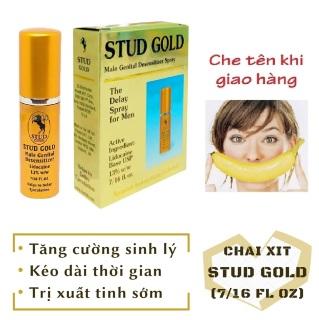 Chai xịt STUD GOLD cao cấp tăng cường sinh lý nam mạnh mẽ (chai 10ml) - hàng chính hãng 100 thumbnail