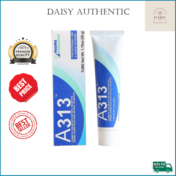 A313 Retinol Bản Nội Địa - Kem A313 Pommade Retinol Cream Ngừa Mụn, Chống Lão Hóa, Giảm Nếp Nhăn 50g
