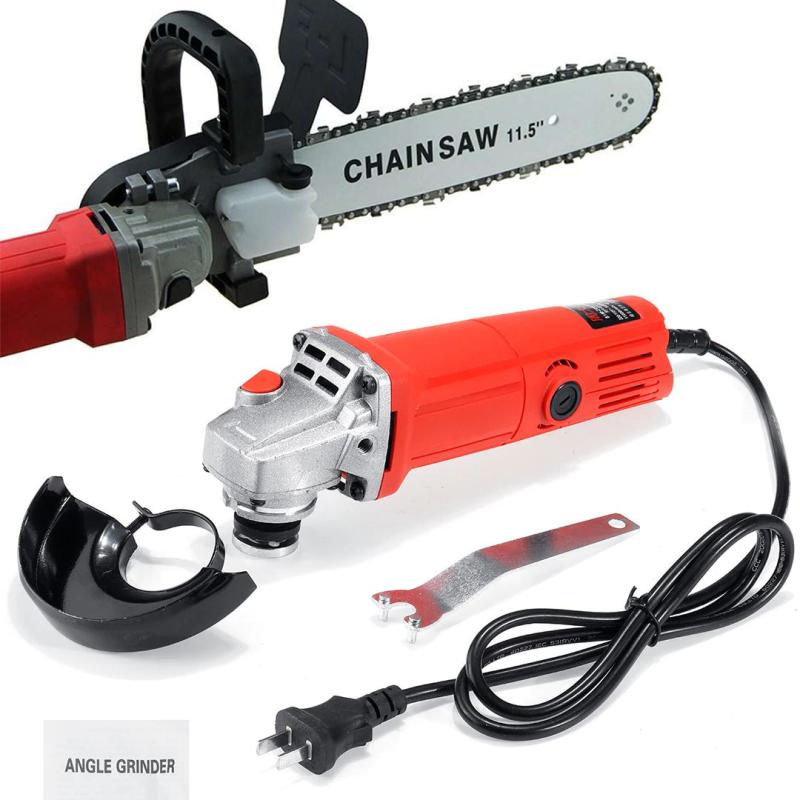 COMBO Lưỡi cưa xích + Máy mài - Bộ lam xích lưỡi cưa gắn máy mài chain saw trục 10 mm - Lưỡi cưa xích gắn máy mài - Máy mài Aotuo - Có 3 phân loại lựa chọn vui lòng xem kỹ