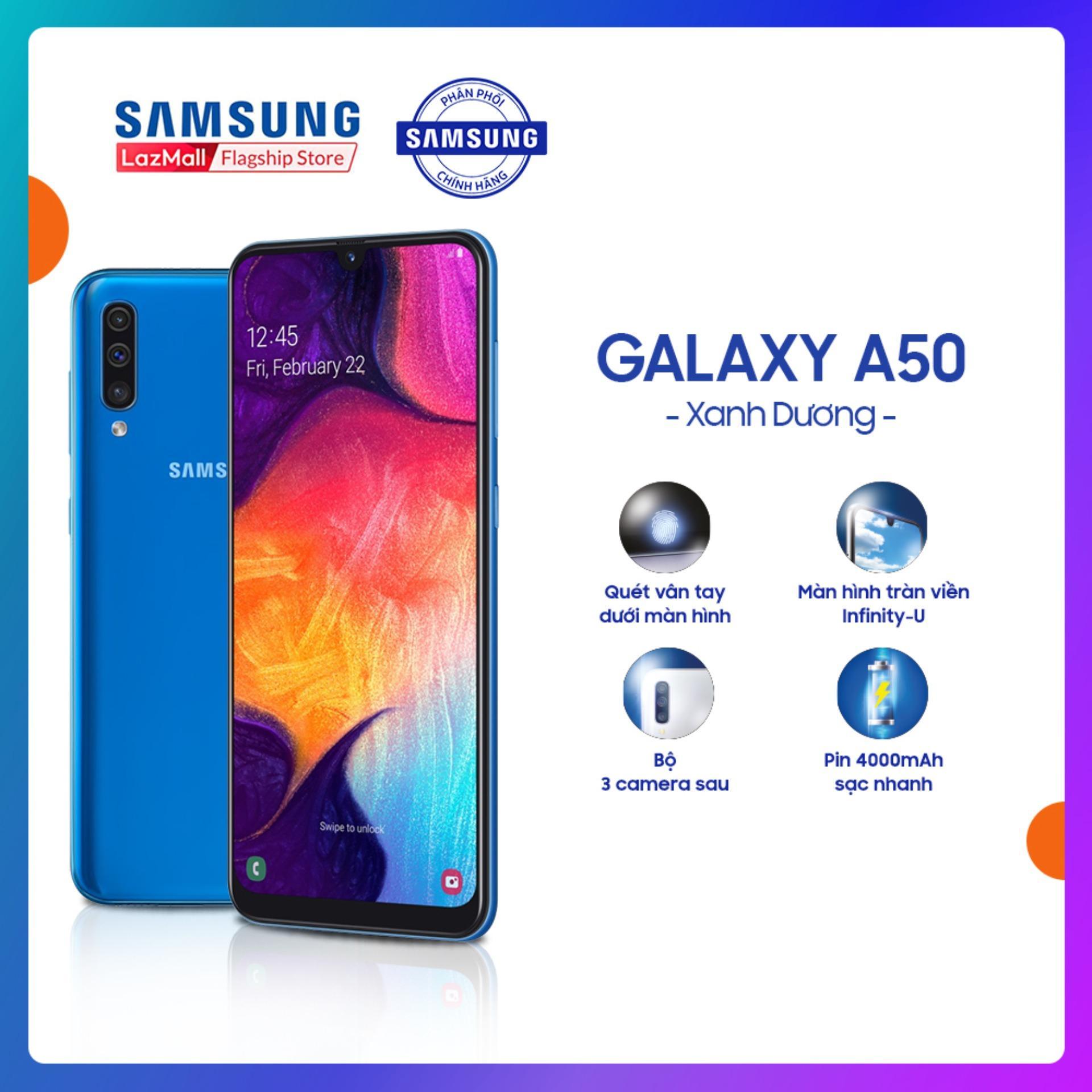 Samsung Galaxy A50 - Điện Thoại Chính Hãng