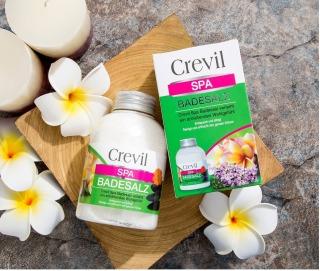 Muối tắm Crevil SpaBadesalz - với các hạt tinh thể muối (được tinh chiết từ muối khoáng) Hộp 600gr thumbnail