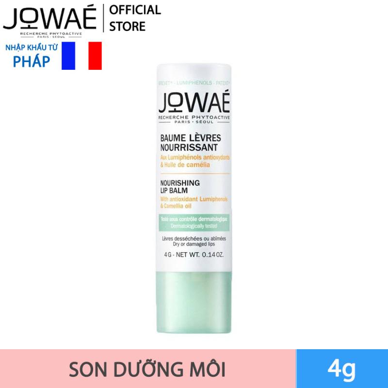 Son dưỡng môi tự nhiên dưỡng ẩm cung cấp dưỡng chất JOWAE Mỹ phẩm thiên nhiên nhập khẩu từ Pháp giá rẻ