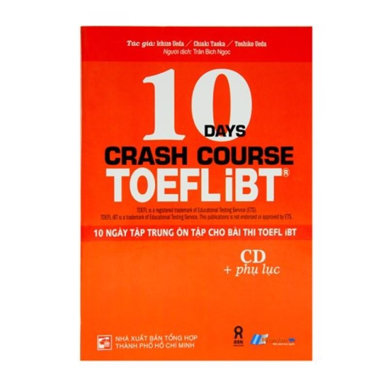 Sách - 10 Ngày Tập Trung Ôn Tập Cho Bài Thi Toefl iBT -  luyện thi Toefl độc quyền Nhân Văn