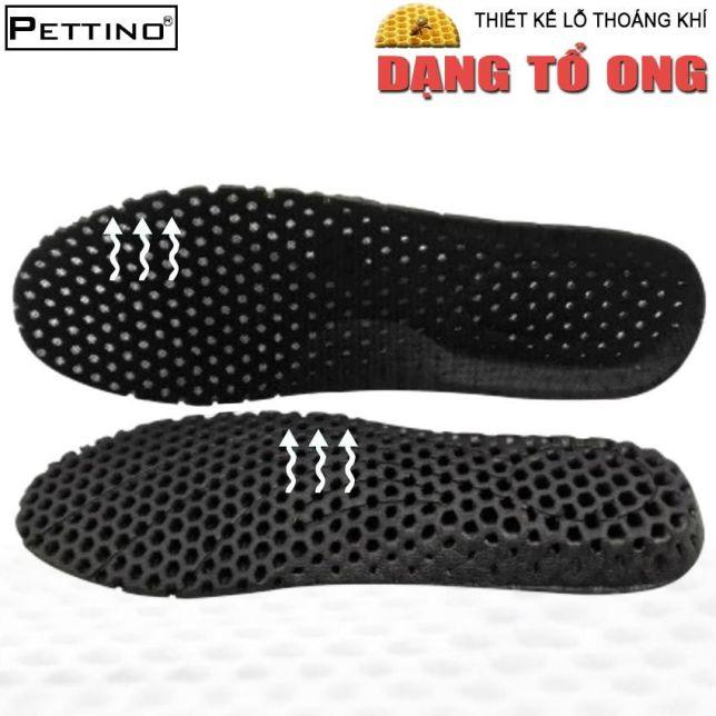 Lót giày nam, lót giày nữ, lót giày thể thao thoáng khí, êm chân, khử mùi cực hiệu quả PETTINO - LLTX01 (01 cặp) giá rẻ