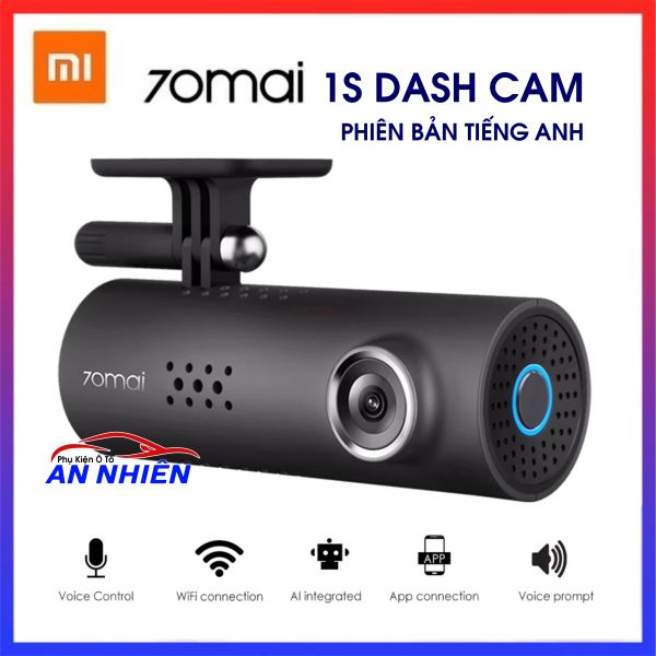 [HTLĐ tại Hải Phòng] Camera Hành Trình Xiaomi 70mai 1S Dash Cam - Camera hành trình WIFI Full HD 1080P giá rẻ cho ô tô xe hơi