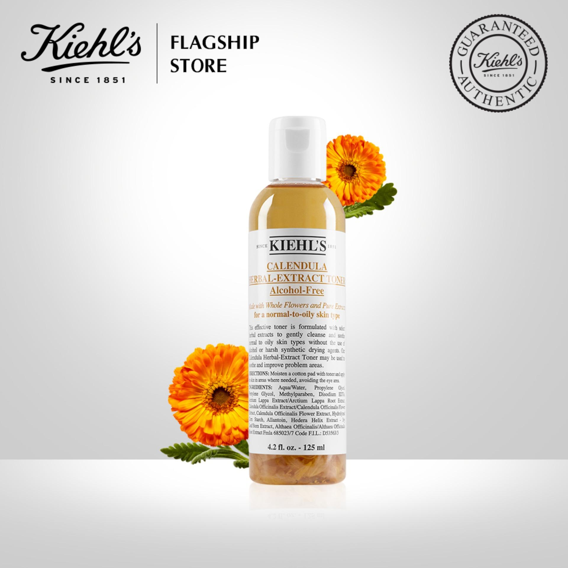 Nước cân bằng Hoa Cúc Kiehls Calendula Herbal Extract Alcohol-Free Toner 125ML nhập khẩu