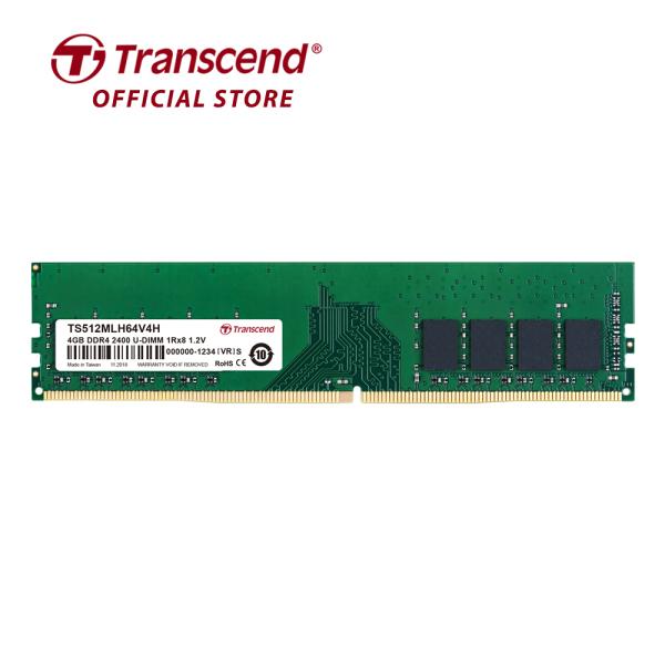 Bảng giá RAM PC Transcend 4GB DDR4 2400Mhz 1Rx8 (512Mx8)x8 CL17 1.2V Transcend - Hàng Chính Hãng Phong Vũ