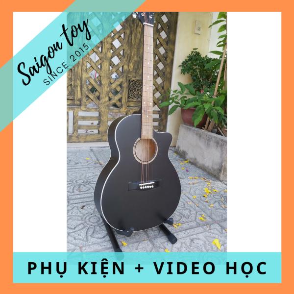 Guitar Acoustic lắp sẵn EQ HEG.001 TẶNG KÈM Capo, pick gãy, dây sơ cua, giáo trình online