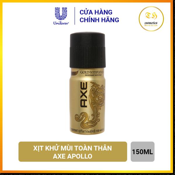 Xịt Ngăn Mùi Toàn Thân Axe Gold 150ml