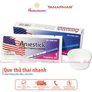 Que thử thai Amestick - test thử thai nhanh Hộp 1 que bản tiêu chuẩn, giao hàng kín đáo, che tên thumbnail