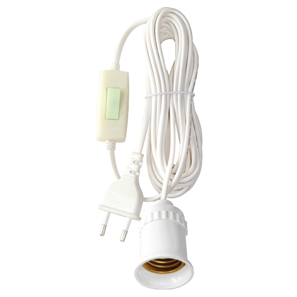 Đuôi - Đui đèn liền dây dài 5m Sopoka ĐS7