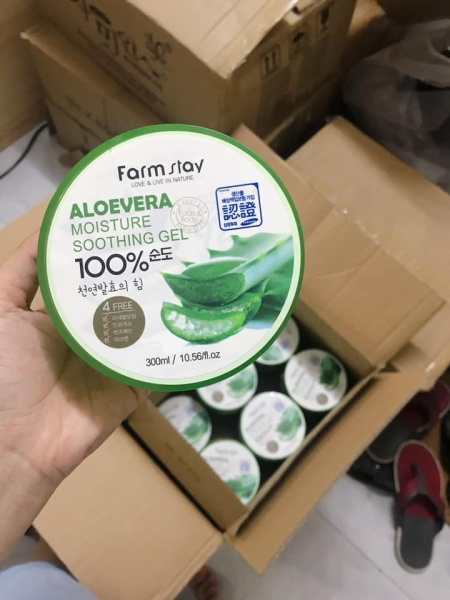 Gel Nha Đam 100% - Aloevera moisture soothing gel 100%