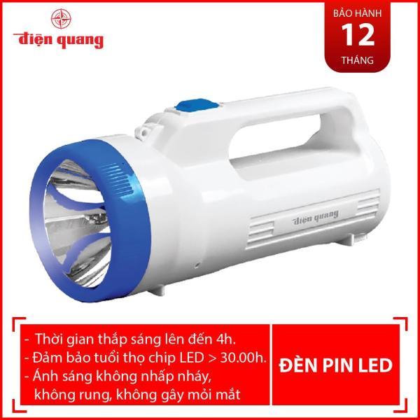 Đèn Pin LED Điện Quang ĐQ PFL06 R WB (Pin sạc, Trắng - Xanh dương)