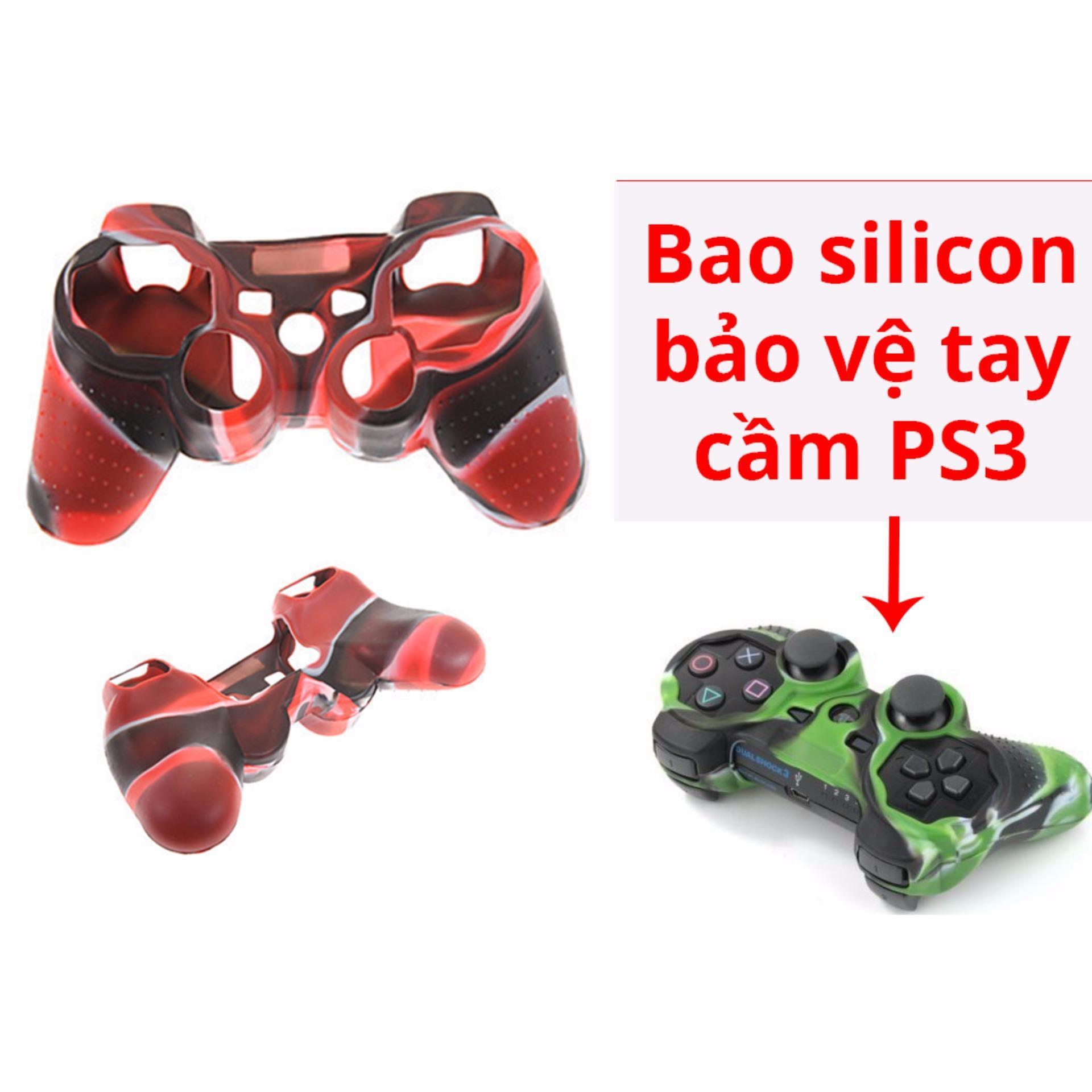 Bao silicon bảo vệ tay cầm chơi game PS3 Nhật Bản